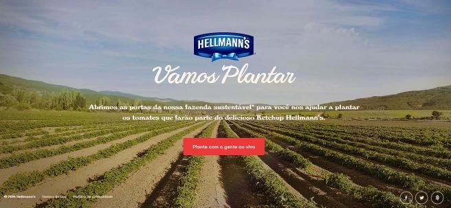 Hellmanns Vamos Plantar